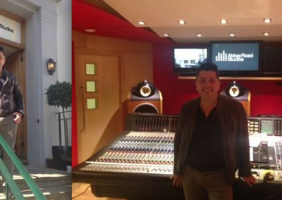 Mauro at Abbey Road Studios